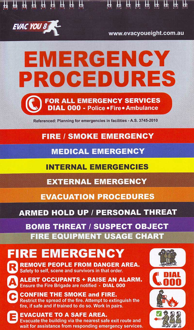 how to write an emergency procedure