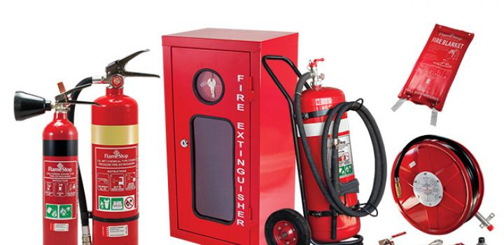 Portable Fire Suppression Equipment : Portable fire equipment state one protection security